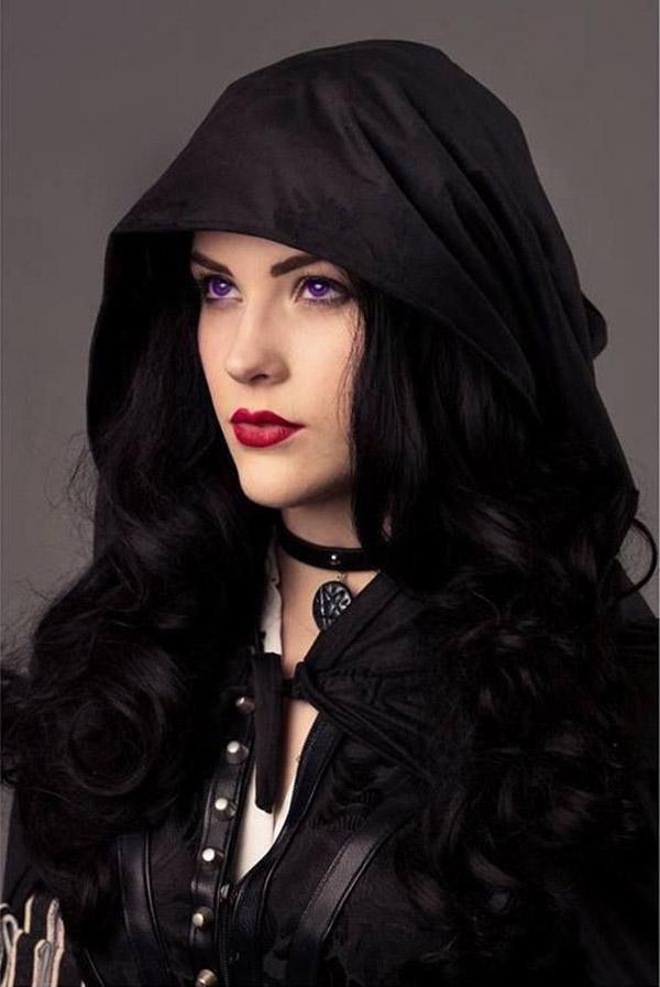 Black Hair Violet Eyes Impression Hair Style